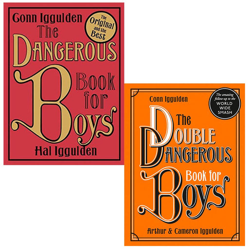 Conn Iggulden Collection 2 Books Set (The Dangerous Book for Boys, The Double Dangerous Book for Boys) - The Book Bundle