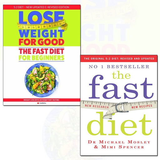 fast diet and how to lose weight for good: fast diet for beginners 2 books collection set - The Book Bundle