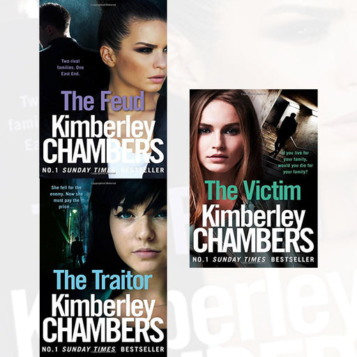 kimberley chambers trilogy mitchells and o'haras collection 3 books set (the feud, the traitor, the victim) - The Book Bundle