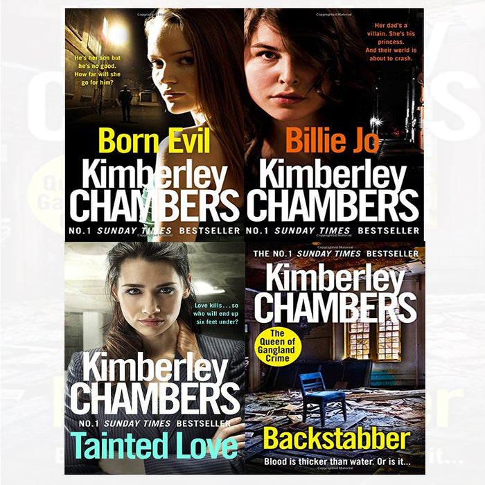 Butlers series Kimberley Chambers Series 2 : 4 books Collectin set (Backstabber,Tainted,Born Evil,Billie Jo) - The Book Bundle