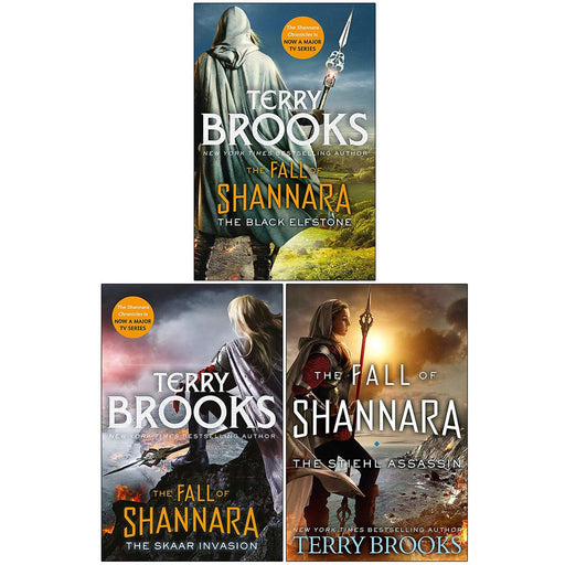 Terry Brooks 3 Books Collection Set Fall of Shannara Series (Vol 1-3) - The Book Bundle