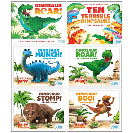 World of Dinosaur Roar Collection 6 Books Set - The Book Bundle