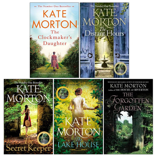 Kate Morton Collection 5 Books Set (The Clockmaker's Daughter, The Distant Hours, The Secret Keeper, The Lake House, The Forgotten Garden) - The Book Bundle