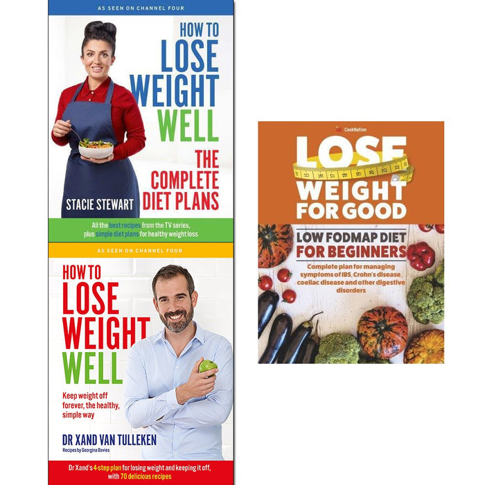 how to lose weight well, the complete diet plans and lose weight for good low 3 books collection set - The Book Bundle
