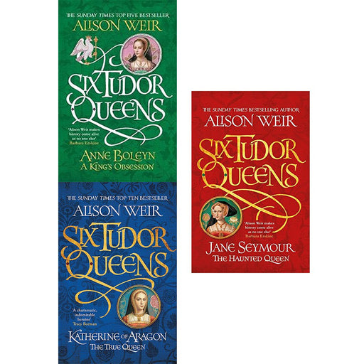 Six tudor queens alison weir collection 3 books set - The Book Bundle