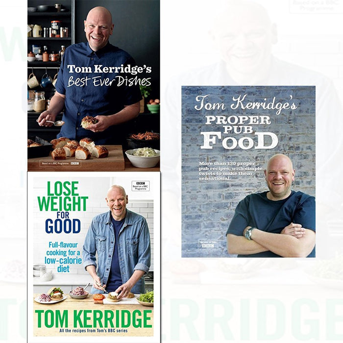 tom kerridge 3 books collection set - The Book Bundle