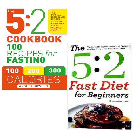 5:2 Cookbook Collection 2 Books Bundle - The Book Bundle