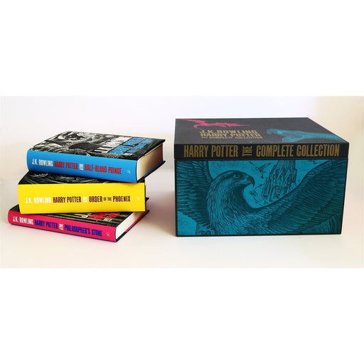 Harry Potter Adult Hardback Box Set - The Book Bundle