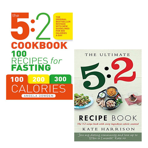 5:2 Diet Recipe Book Collection 2 Books Bundle - The Book Bundle