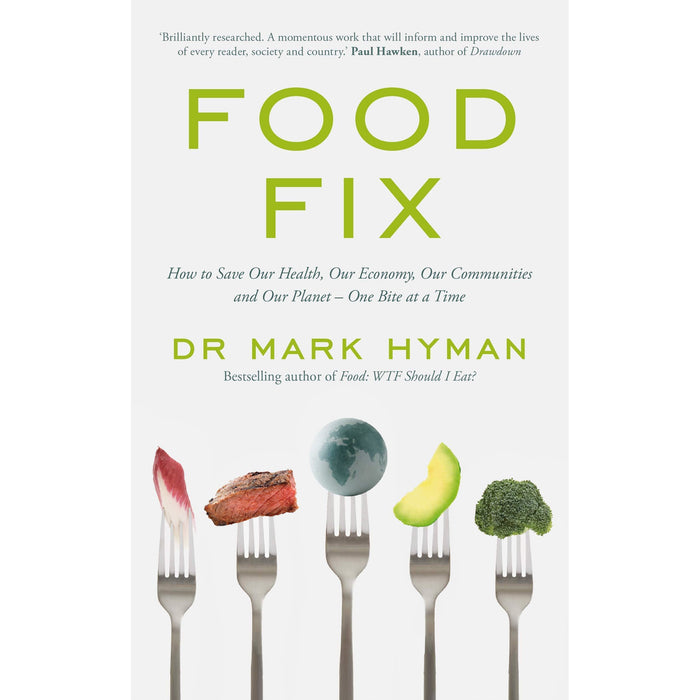 Mark Hyman Collection 3 Books Set (Food Fix, Food WTF Should I Eat, Eat Fat Get Thin) - The Book Bundle