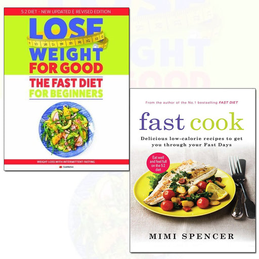 fast cook and how to lose weight for good: fast diet  2 books collection set - The Book Bundle