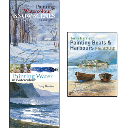 Terry Harrison Watercolours 3 Books Collection Set - The Book Bundle
