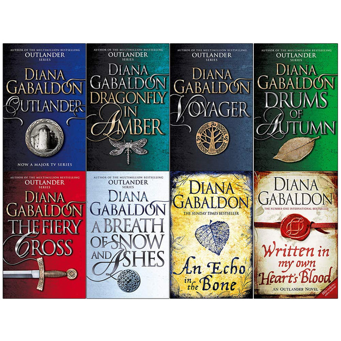 Diana Gabaldon Outlander Series 8 Books Collection Set - The Book Bundle