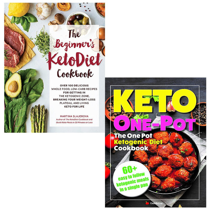 Beginners keto diet cookbook and keto one pot diet collection 2 books set - The Book Bundle