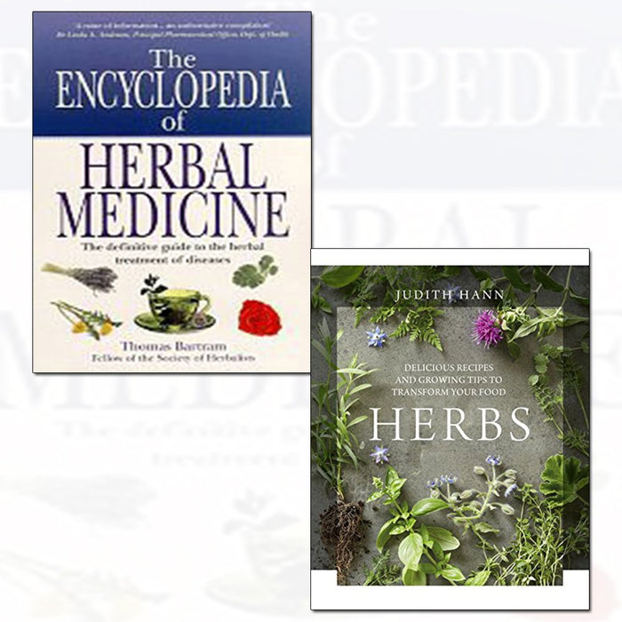 bartram's encyclopedia of herbal medicine and herbs [hardcover] 2 books collection set - The Book Bundle