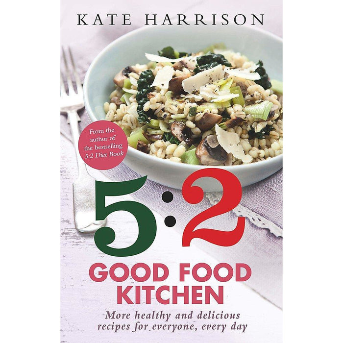 5 2 good food kitchen, vegetarian 5 2 fast diet and slow cooker vegetarian recipe book 3 books collection set - The Book Bundle