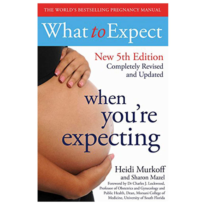 Hypnobirthing, What , Expecting Better, Baby Food, What To Expect, Pregnancy 6 Books Collection Set - The Book Bundle