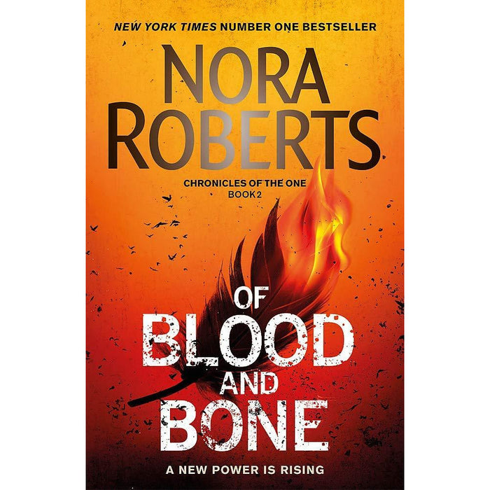 Chronicles of The One Series 2 Books Collection Set By Nora Roberts (Year One, Of Blood and Bone) - The Book Bundle