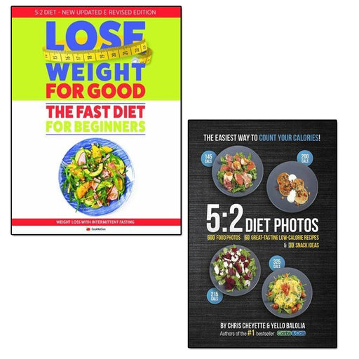 5:2 diet photos and lose weight for good fast diet for beginners 2 books collection set - The Book Bundle