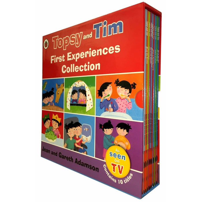 Topsy and Tim First Experiences Collection 10 Books Set Paperback - The Book Bundle