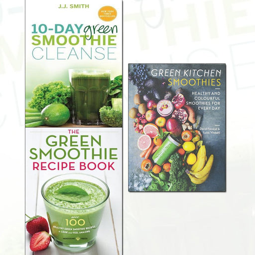 10-day green smoothie cleanse, the green smoothie recipe book 3 books collection set - The Book Bundle