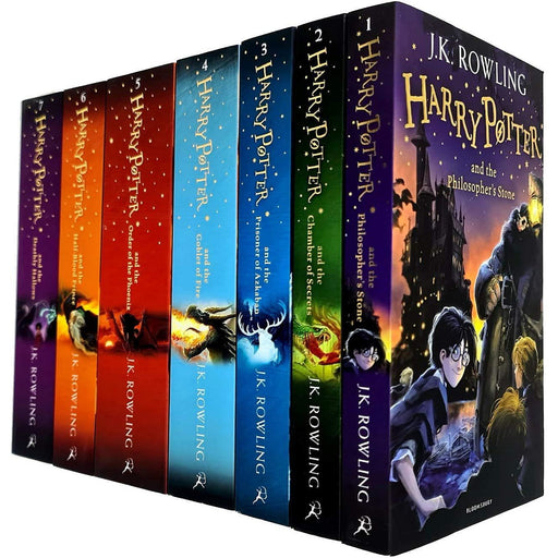 J.K. Rowling Harry Potter Collection 7 Books Bundle - The Book Bundle