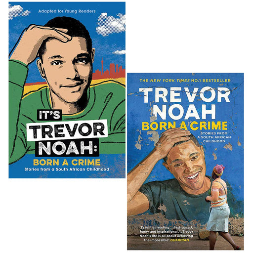 Trevor Noah Collection 2 Books Set (Its Trevor Noah, Born A Crime) - The Book Bundle