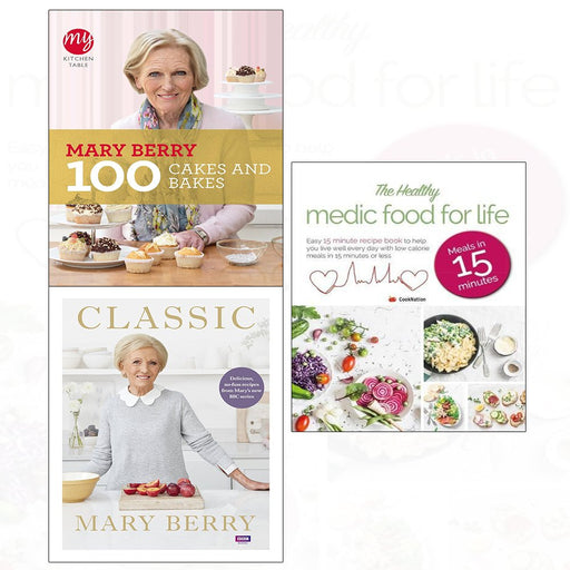 Classic [Hardcover], Healthy Medic Food For Life Meals In 15 Minutes, My Kitchen Table - The Book Bundle
