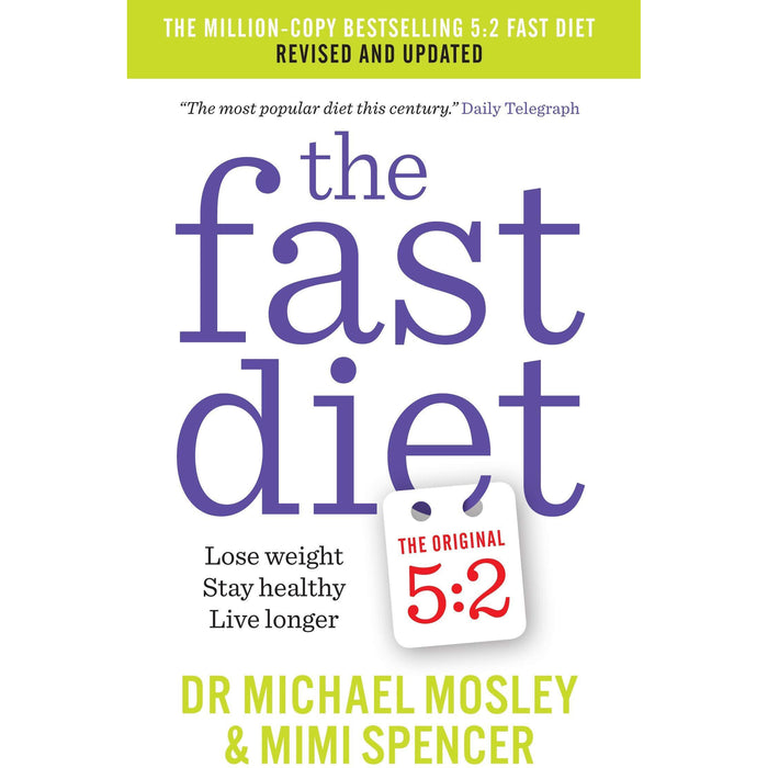 Michael mosley collection 3 books set (the fast 800, 8-week blood sugar diet, fast diet) - The Book Bundle