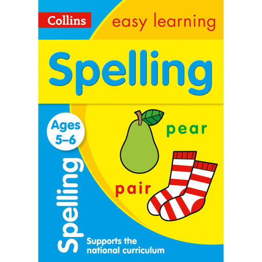 Spelling Ages 5-6: Ideal for Home Learning - The Book Bundle
