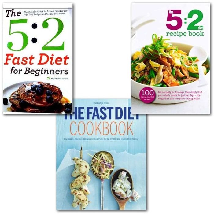 The 5:2 Diet Recipes 3 Books Collection Set, - The Book Bundle