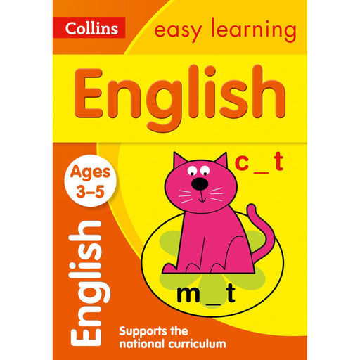 English Ages 3-5: Ideal for Home Learning - The Book Bundle