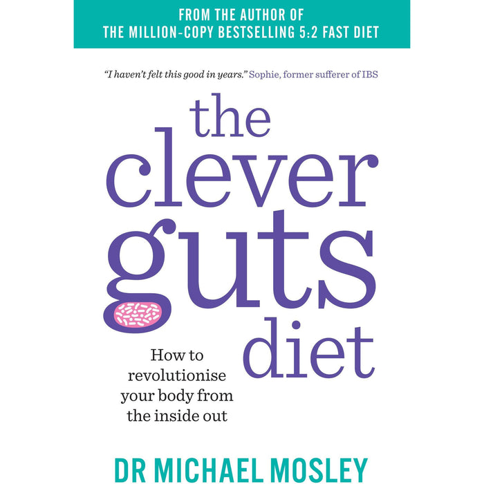 The Clever Guts Diet, Fast Asleep, Quick & Easy Fasting Nom Nom Fast 800 Cookbook, Paleo Nom Nom Fast 800 Cookbook 4 Books Collection Set - The Book Bundle