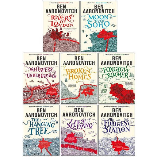 Ben Aaronovitch Rivers of London Series Collection 8 Books Set - The Book Bundle