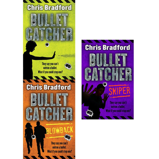 Chris bradford bullet catcher series 3 books collection set (bulletcatcher, blowback, sniper) - The Book Bundle