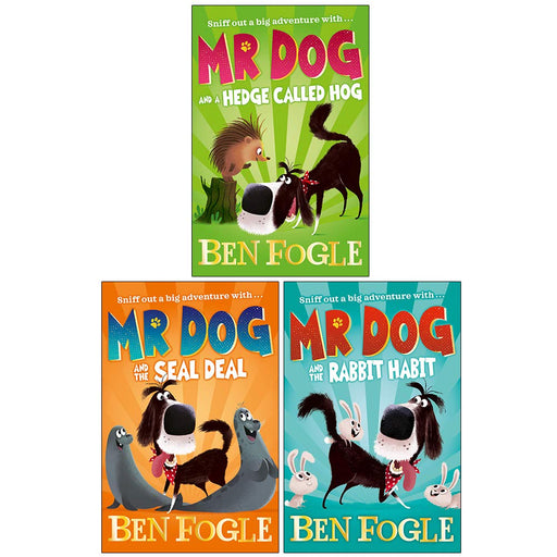 Mr Dog Series 3 Books Set Collection By Ben Fogle & Steve Cole (Mr Dog and a Hedge Called Hog, Mr Dog and the Seal Deal) - The Book Bundle