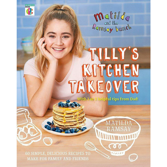 Tillys Kitchen Takeover, Gordon Ramsays Ultimate Cookery Course 2 Books Collection Set - The Book Bundle