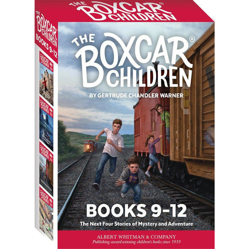 The Boxcar Children Mysteries Boxed Set #9-12 - The Book Bundle