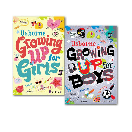 Growing up for Boys and Girls Collection 2 Books Set, (Growing Up for Girls and Growing Up for Boys) - The Book Bundle