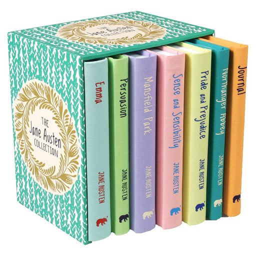 The Complete Novels Of Jane Austen Collection 7 Books Box Set - The Book Bundle