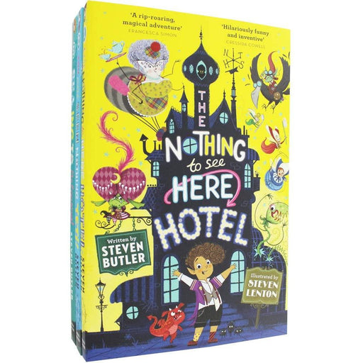 The Nothing to See Here Hotel - 3 Book Collection - The Book Bundle