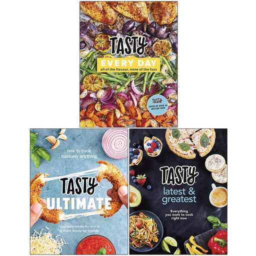 Tasty 3 Books Collection Set (Tasty Every Day, Tasty Ultimate Cookbook, Latest and Greatest) - The Book Bundle