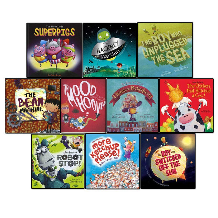 Three Little Superpigs & Other Stories 10 Books Collection Set - The Book Bundle