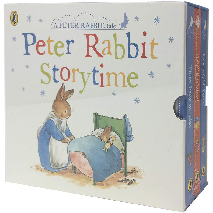 Peter Rabbit Story Time, 3 Books Collection Box Set (Childrens Classic Gift Set - Early Readers) Board book - The Book Bundle