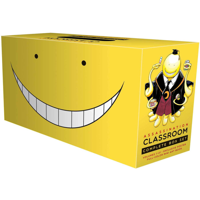 Assassination Classroom Complete Box Set: Includes volumes 1-21 with premium - The Book Bundle