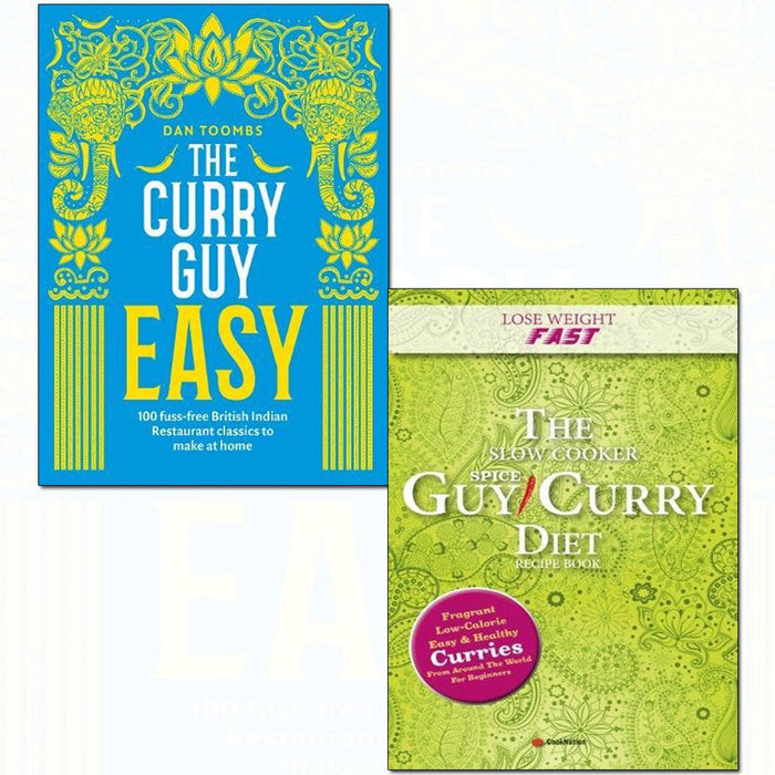 Curry guy easy [hardcover] and slow cooker spice-guy 2 books collection set - The Book Bundle