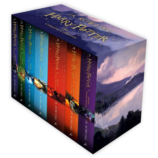 Harry Potter 7 Books Box Set Children's Collection - The Book Bundle