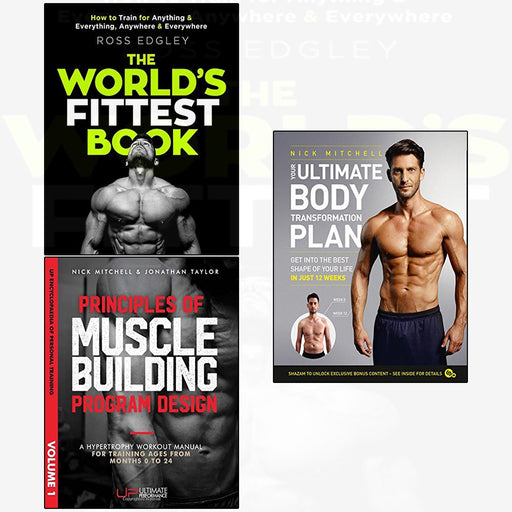 World's fittest and principles  and your ultimate body  3 books collection set - The Book Bundle