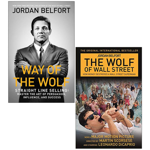 Way of the Wolf, influence,success & The Wolf of Wall Street 2 Books Collection Set - The Book Bundle