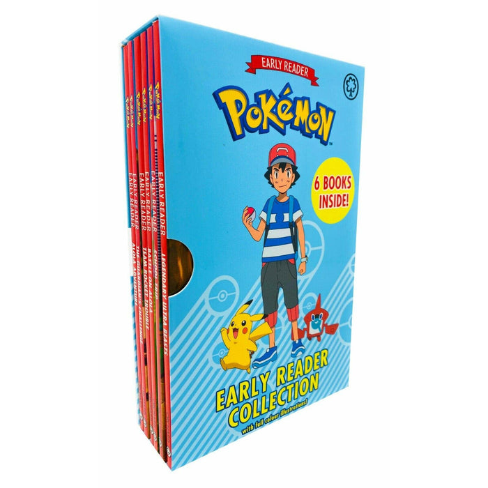 The Official Pokémon Early Reader 6 Books Box Set Collection Paperback - The Book Bundle